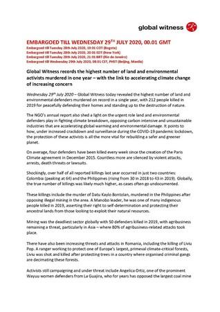 PRESS RELEASE_ENGLISH_DEFENDERS_DEFENDING_TOMORROW
