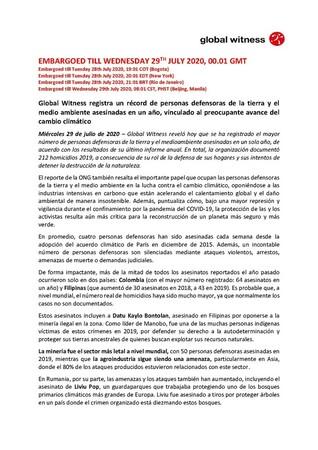 PRESS RELEASE_SPANISH_DEFENDERS_DEFENDING_TOMORROW
